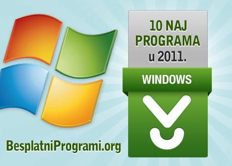 10 najpopularnijih besplatnih programa u 2011. godini