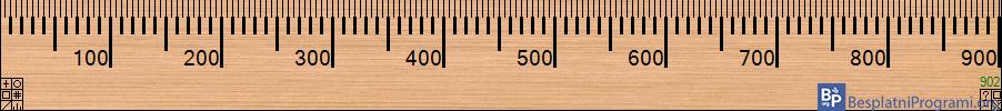 A Ruler for Windows meni