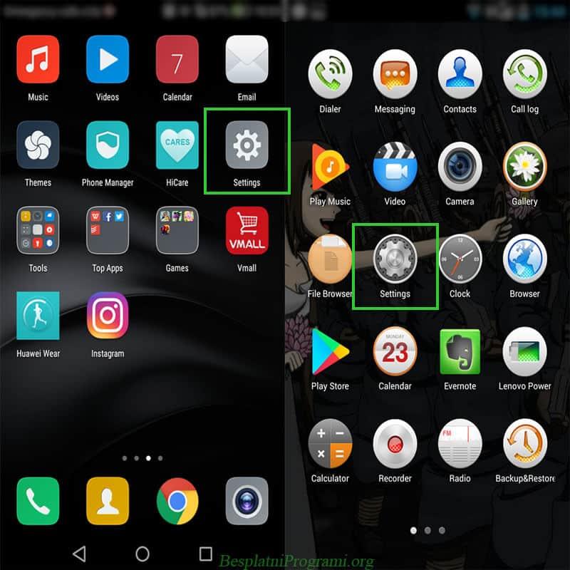 Instagram za Android čisćenje keš memorije
