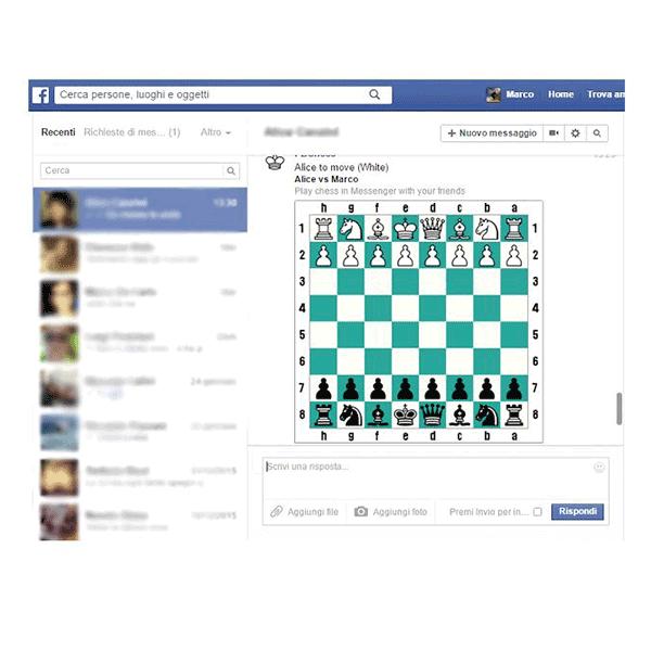 Skrivena igrica u Facebook Messenger-u