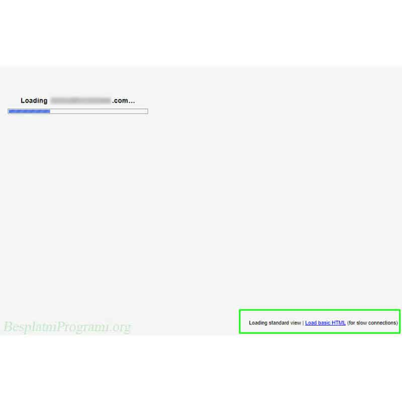 Gmail prikaz ukljucivanja stranice na brzi nacin
