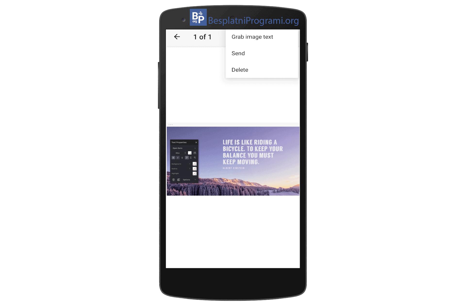 Google Keep skidanje teksta sa slike