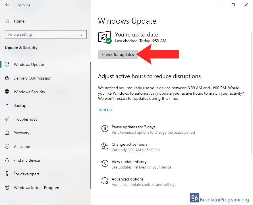 Kako ažurirati Windows 10