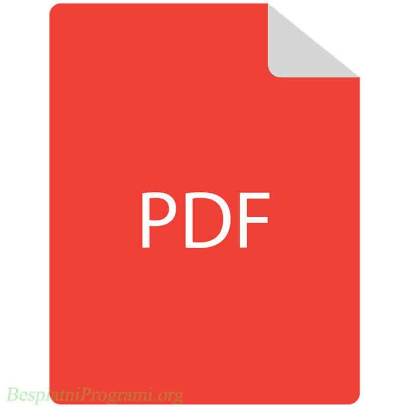 Uputstvo za izmenu sadržaja PDF fajlova