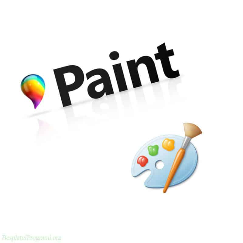 Paint-3D i MS Paint Logo