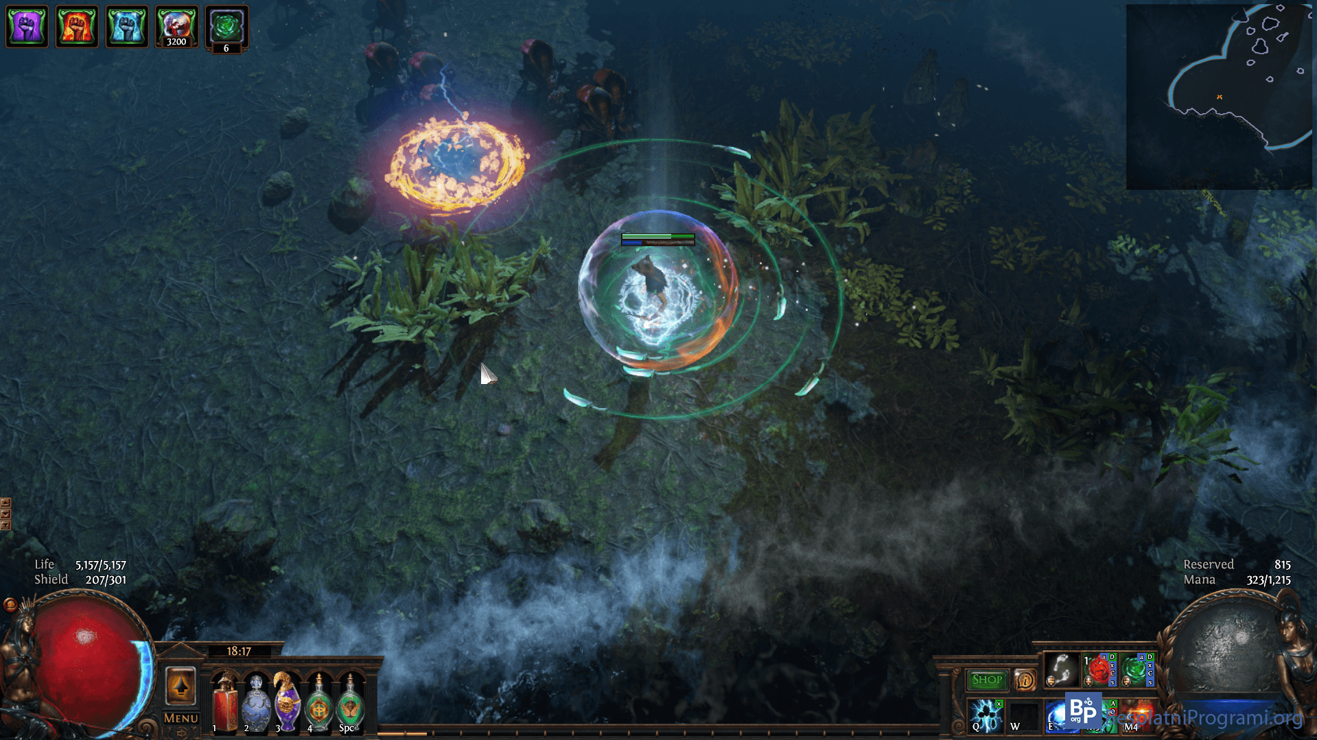 Path of Exile borba