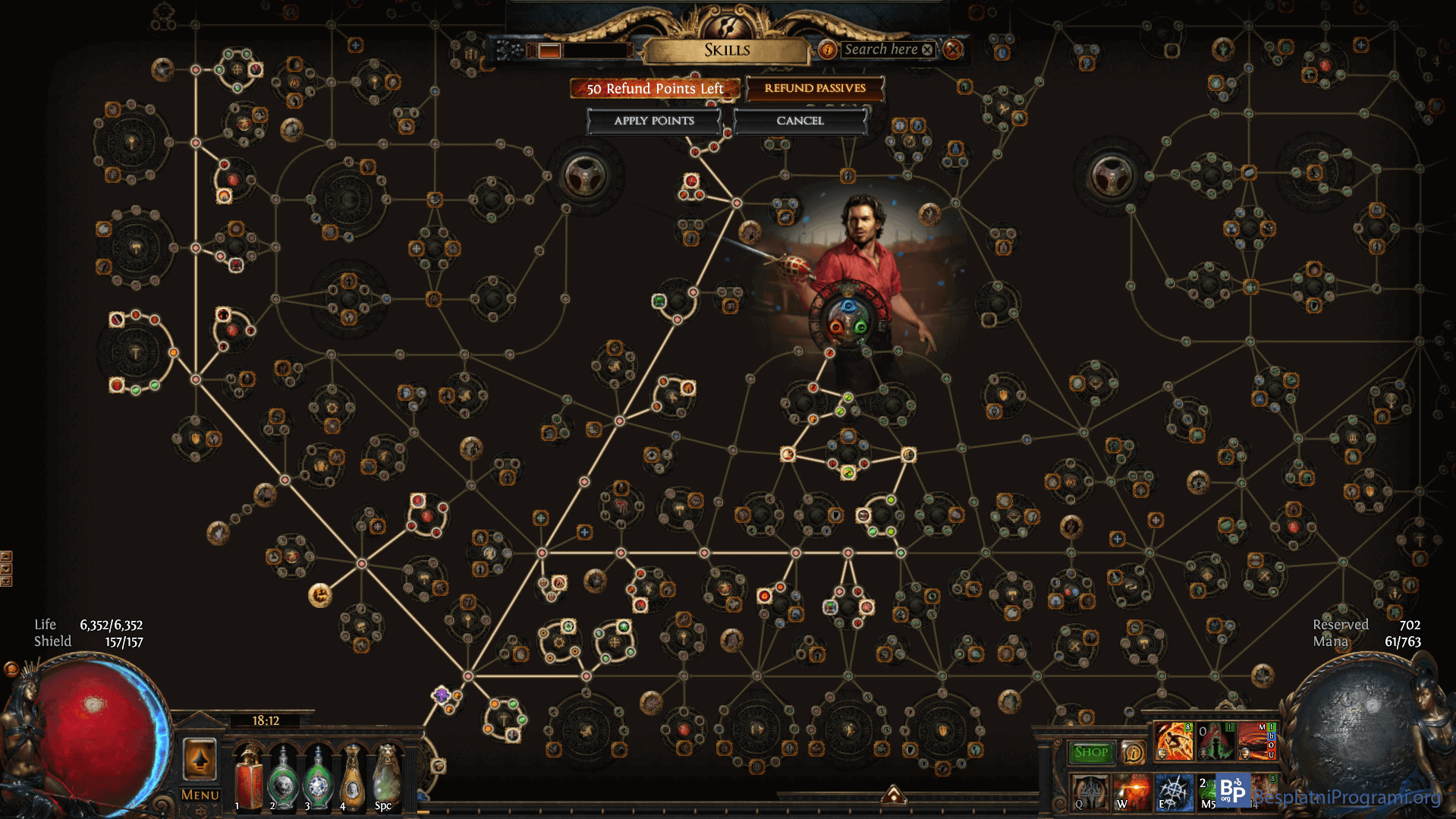 Path of Exile skilovi