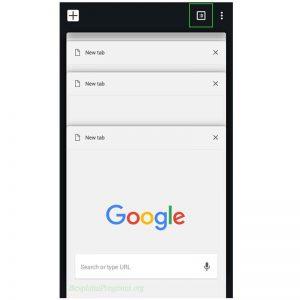 Prikaz Android Browsera
