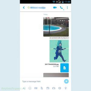 Skype Prikaz Slanja Slika