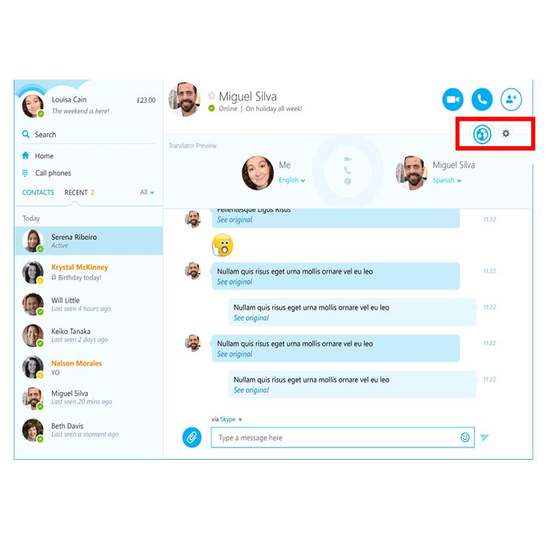 Skype prevodilac dostupan svim Windows korisnicima