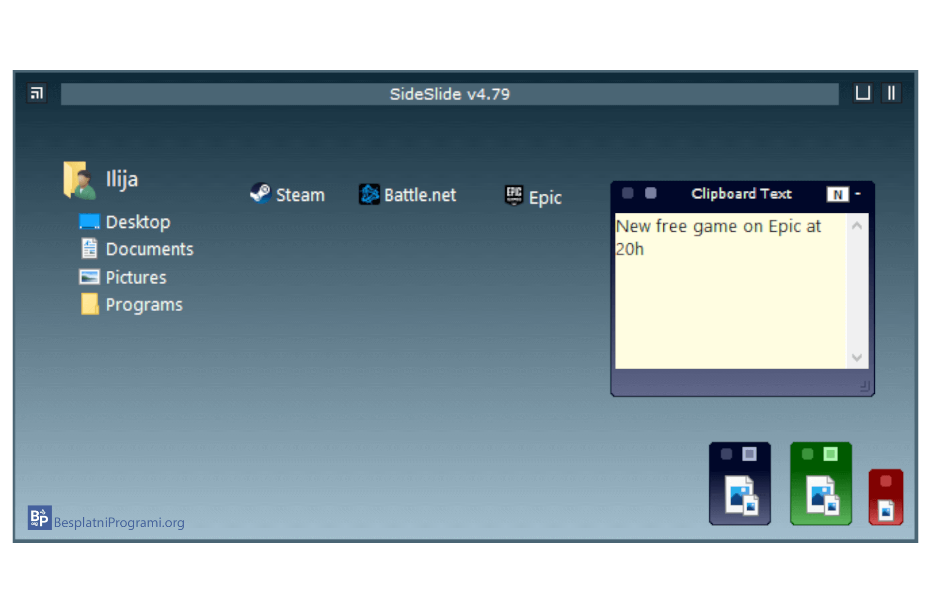 SlideSlide novi desktop