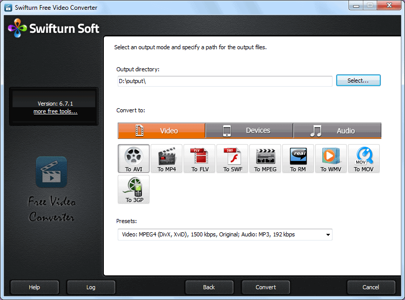 Swifturn Free Video Converter