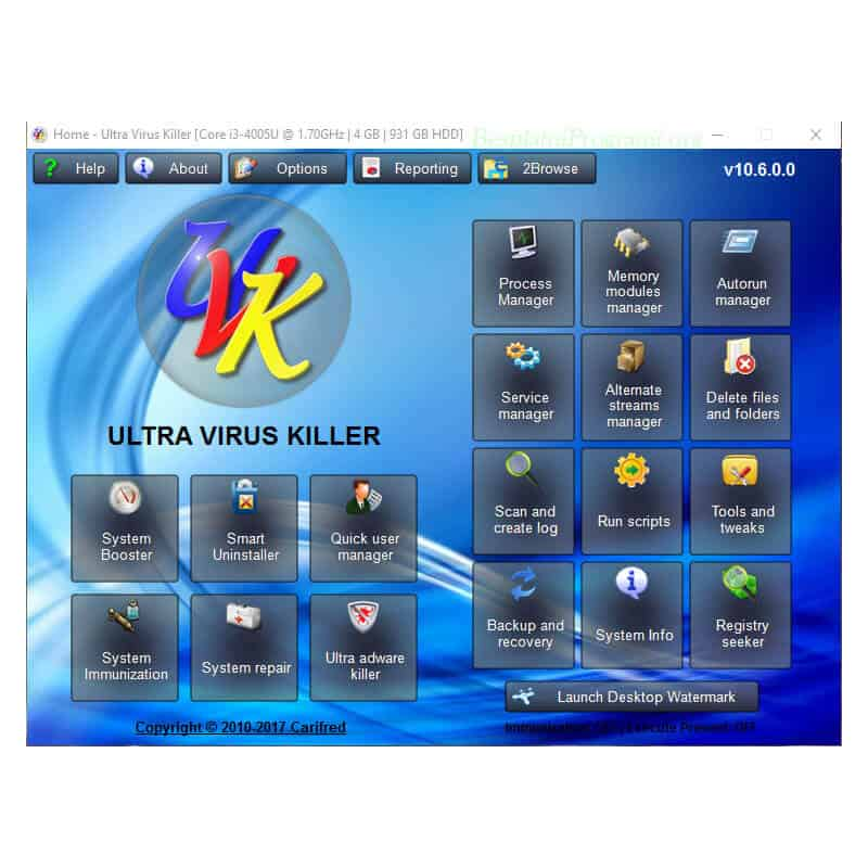 UVK – Ultra Virus Killer