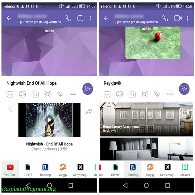 Viber Chat Extensions