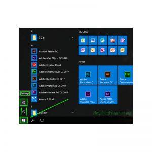 Windows 10 opcije
