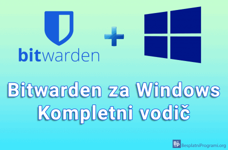 Bitwarden za Windows – kompletni vodič