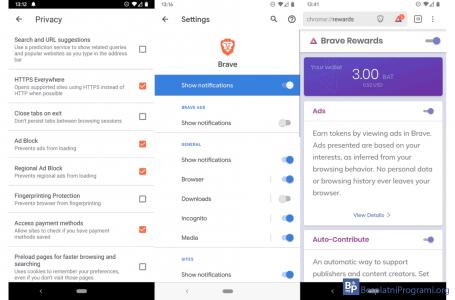 Brave browser – Spotify bez reklama i Youtube na zaključanom ekranu