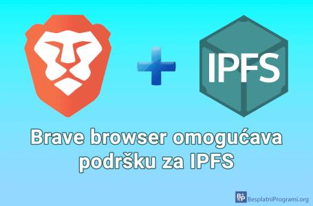 Brave browser omogućava podršku za IPFS