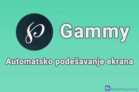 Gammy – automatsko podešavanje ekrana