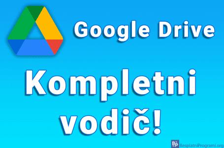 Google Drive – Kompletni vodič