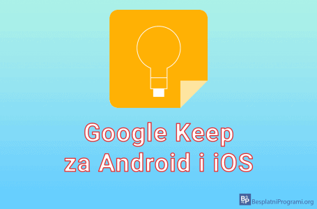 Google Keep za Android i iOS
