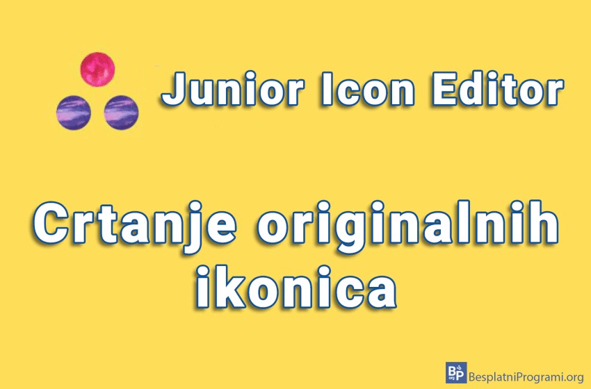 Junior Icon Editor – crtanje originalnih ikonica