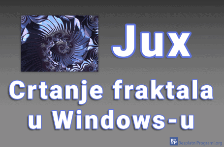 Jux – crtanje fraktala u Windows-u