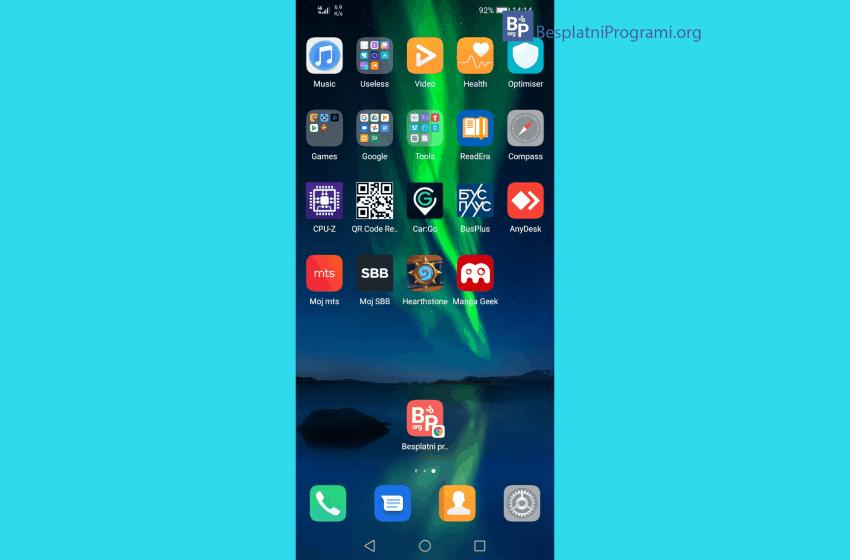 Kako napraviti prečicu (ikonicu) za web sajt na Android-u i iOS-u