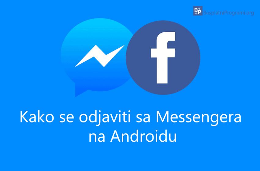 Kako se odjaviti sa Messenger-a na Android-u