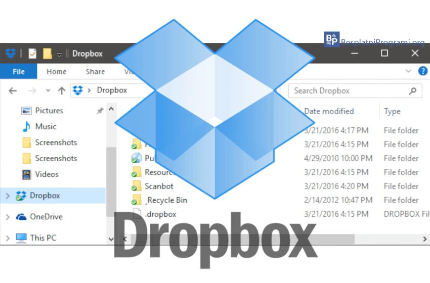 Kako šerovati fajlove i foldere sa vašeg računara na Dropbox