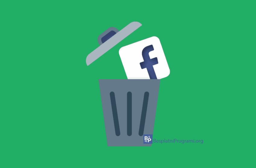Kako trajno obrisati Facebook nalog
