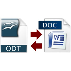 Konvertovanje iz .odt u .doc format (.docx, .pdf, .mp3, .mpg, .docx, .avi, .pptx)