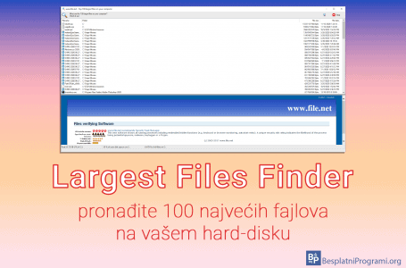 Largest Files Finder