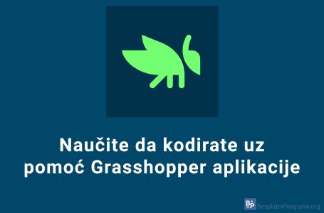 Naučite programiranje uz Grasshopper aplikaciju