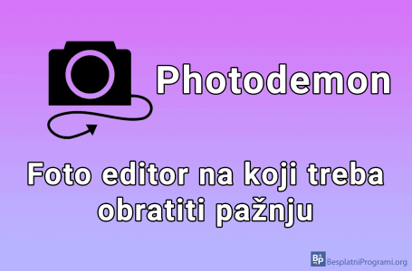 Photodemon – besplatan program za editovanje slika