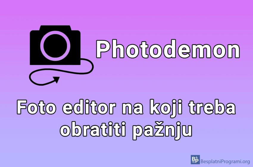 Photodemon – besplatan program za editovanje slika
