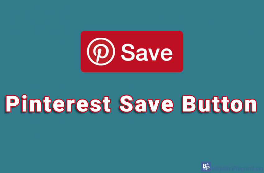 Pinterest Save Button