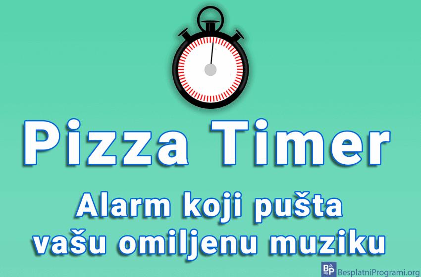 Pizza Timer – alarm koji pušta vašu omiljenu muziku