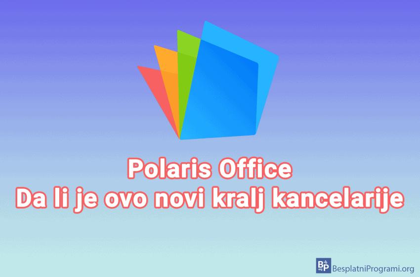Polaris Office – besplatni alati za kancelarijsko poslovanje