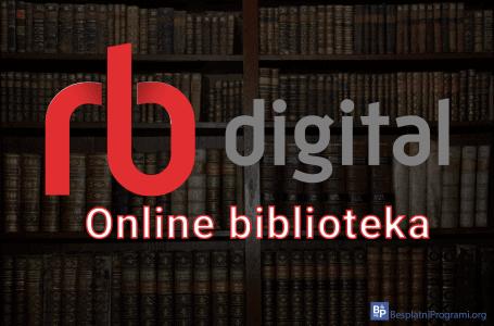 RBdigital online biblioteka za Android i iOS