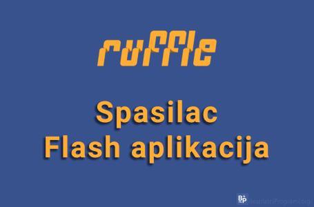 Ruffle – spasilac Flash aplikacija