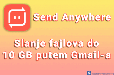 Send Anywhere – slanje fajlova do 10 GB putem Gmail-a