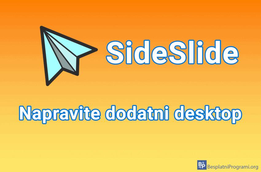 SideSlide – napravite dodatni desktop