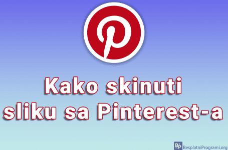Kako skinuti sliku sa Pinterest-a
