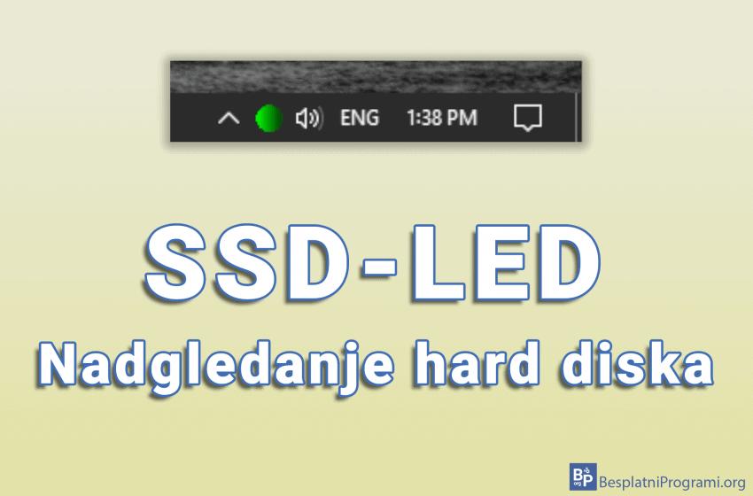 SSD-LED – nadgledanje hard diska
