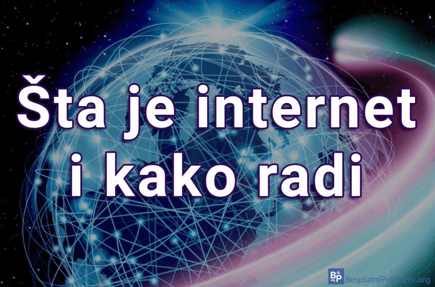 Šta je internet i kako radi