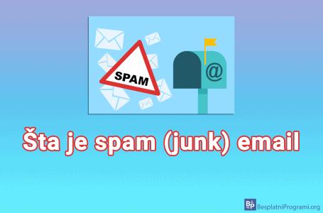 Šta je spam (junk) email