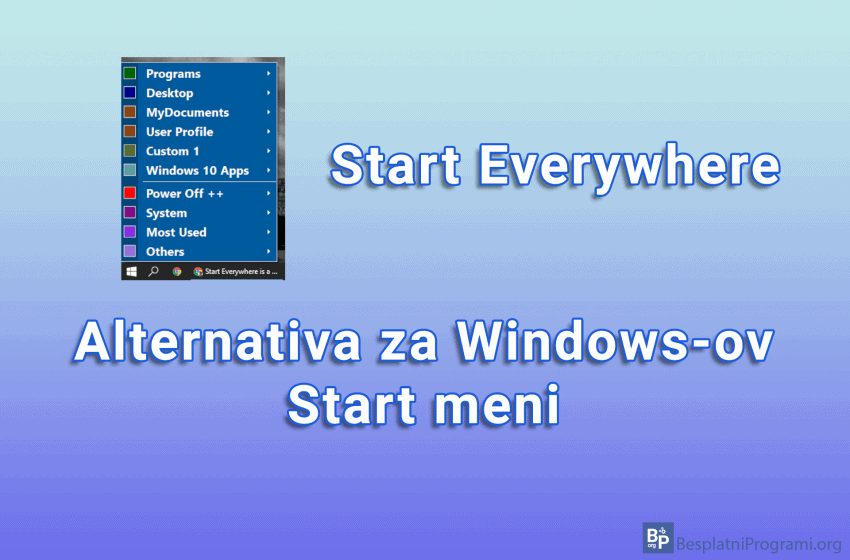 Start Everywhere – alternativa za Windows-ov Start meni