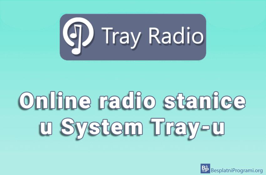 Tray Radio – online radio stanice u System Tray-u