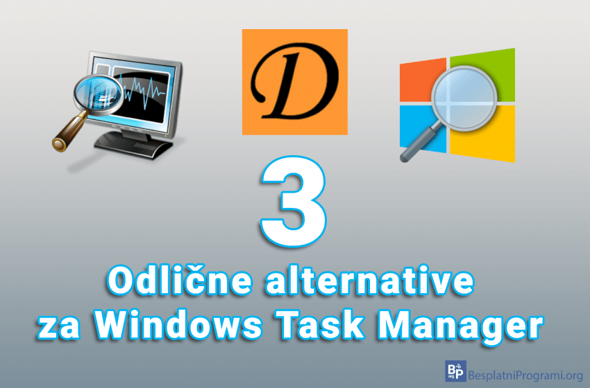 Tri odlične besplatne alternative za Windows Task Manager